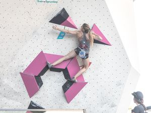 AUSTRIAN OPEN 2019 - Innsbruck (AUT) 13th - 16th June 2019 - BOULDER QUALIFIKATION / image shows: Jessica Pilz