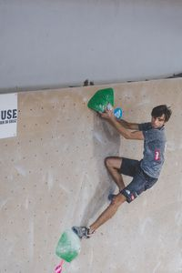 IFSC EUROPEAN YOUTH CUP BOULDER 2019 - Graz (AUT) 11th - 12th May 2019 / image shows: Harlacher Alexander (AUT)