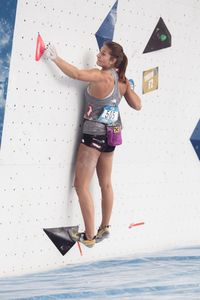 JUGEND-WM 2019 -\nIFSC CLIMBING YOUTH WORLD CHAMPIONSHIPS - Arco (ITA) 21-31 August 2019 / image shows: Mona Jenewein