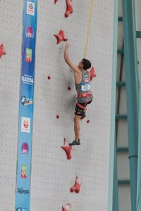 JUGEND-WM 2019 -\nIFSC CLIMBING YOUTH WORLD CHAMPIONSHIPS - Arco (ITA) 21-31 August 2019 / image shows: Johannes Hofherr