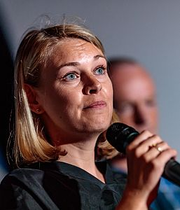 29.05.2018, Metropol, Innsbruck, AUT, IFCS Kletter WM, Pressekonferenz, im Bild Elisabeth Mayr (SPOe) // during the Pressconference for the IFSC Climbing World Championships at the Metropol, Innsbruck, Austria on 2018/05/29. EXPA Pictures © 2018, PhotoCredit: EXPA/ JFK