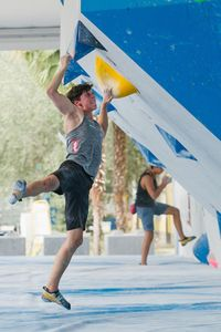 JUGEND-WM 2019 -\nIFSC CLIMBING YOUTH WORLD CHAMPIONSHIPS - Arco (ITA) 21-31 August 2019 / image shows: Johannes Hofherr (ÖAV Feldkirch)