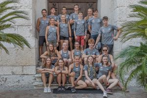 JUGEND-WM 2019 -\nIFSC CLIMBING YOUTH WORLD CHAMPIONSHIPS - Arco (ITA) 21-31 August 2019 / image shows: KVÖ Team