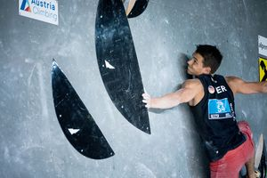 Innsbruck, AUT, 09.JULY.20 - AUSTRIA CLIMBING SUMMER SERIES 2020. Image shows KLEESATTEL MAX (GER). Photo: KVOE / ANDREAS AUFSCHNAITER