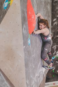 IFSC EUROPEAN YOUTH CUP BOULDER 2019 - Graz (AUT) 11th - 12th May 2019 / image shows: Leitner Stephanie (AUT)