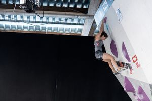 Innsbruck, AUT, 09.JULY.20 - AUSTRIA CLIMBING SUMMER SERIES 2020. Image shows FÄRBER JOHANNA (AUT). Photo: KVOE / ANDREAS AUFSCHNAITER