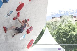AUSTRIAN OPEN 2019 - Innsbruck (AUT) 13th - 16th June 2019 - BOULDER / image shows: Jakob Schubert