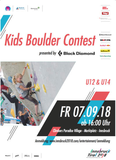 Kids Boulder Contest presented by Black Diamond